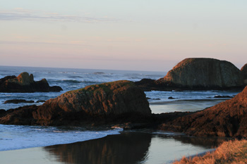 Seal Rock Sunset by B. Goody